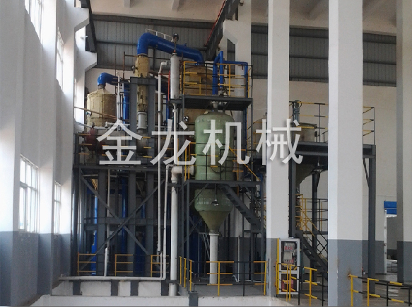 Nickel sulfate evaporation crystallization system
